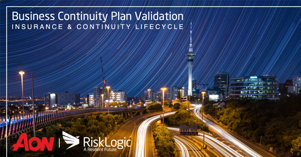 Insurance and continuity lifecycle aon risklogic