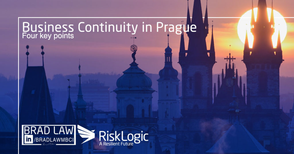 Business Continuity RiskLogic in Prague Dimension Data