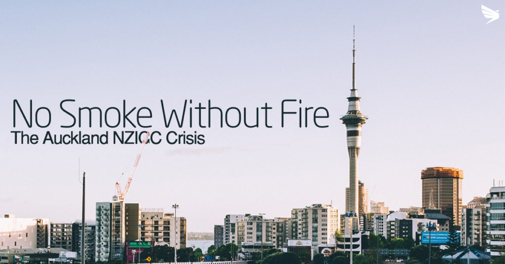 Auckland Convention Fire