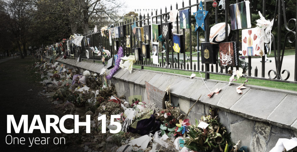 March 15th Christchurch one year on