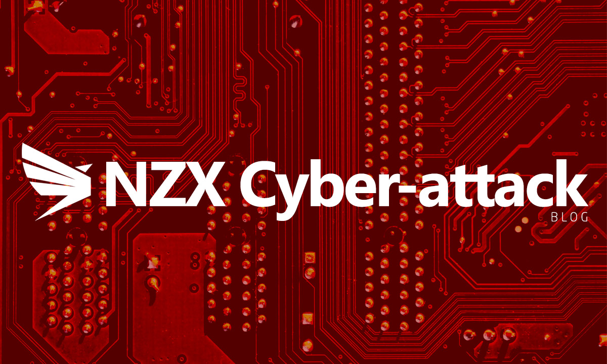 NZX Cyber attack